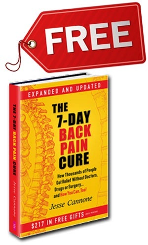 7 day back pain cure book